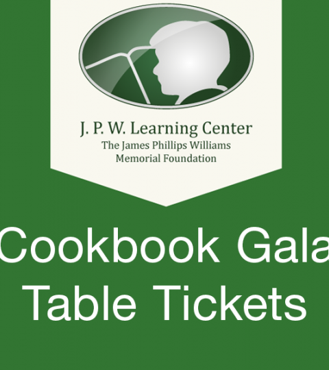 Cookbook Gala 2021 Table Reservation
