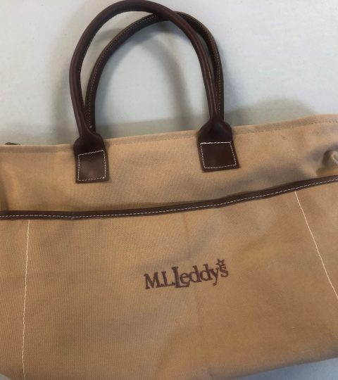 Canvas Tote Donated By M.L. Leddys Of San Angelo