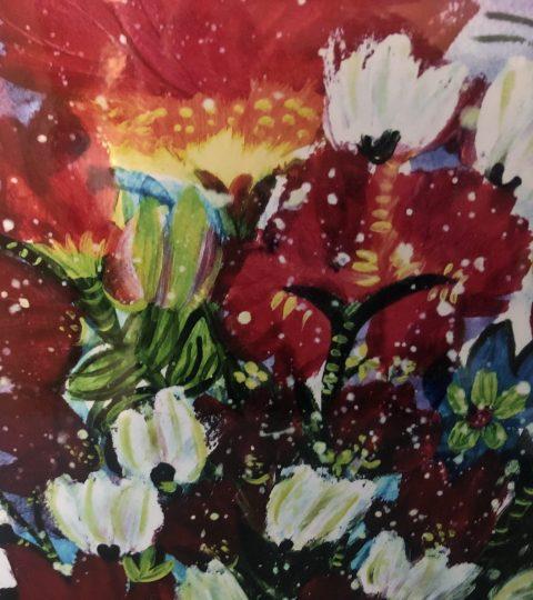 Spring Flowers Print By Frank Dubek