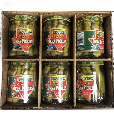 One Mixed Case Of Pickled Okra